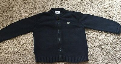 Lacoste Cardigan Age 4 Years Old