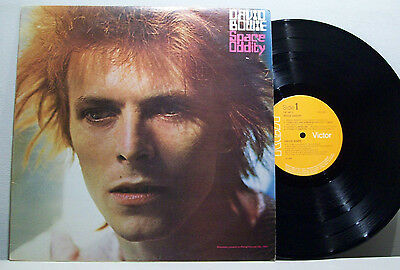 DAVID BOWIE - space oddity LP with printed inner UK RCA VICTOR tony visconti