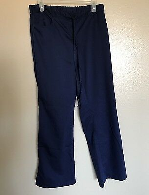 Women's Grey's Anatomy Scrub Pants Blue Inseam 30 Size Medium