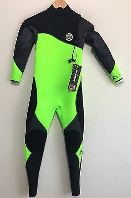 Rip Curl Childs Full Wetsuit Flash Bomb 3/2 Youth Juniors 12,16 - Retail $240