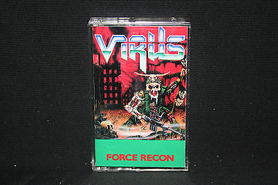 Virus - Force Recon - 1988 Rare Cassette - TESTED - EX Condition! THRASH METAL