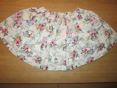 Next Pretty Floral Lined Skirt -  18-24 Months