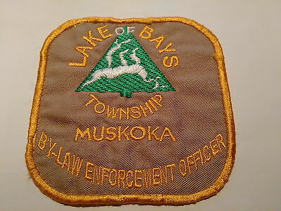 Lake of Bays By-law Enforcement Patch