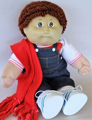 1985 *CABBAGE PATCH BOY DOLL* made by COLECO Industries Signed by Xavier Roberts