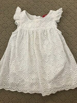 Sprout Baby Girl White Dress Size 000 Designer