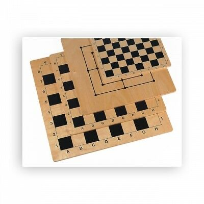 Chess and Mill board - Birch - printed on - Field size 50 mm