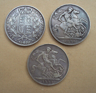 Victoria silver Crowns - choose your coin