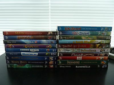 DVD Lot #005: 19 Disney Movies for Children, Kids or Young at heart EXCELLENT
