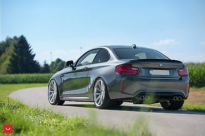 Carbon Fiber Rear Trunk Boot Spoiler Wing For Bmw 2Series F22 M235i 2014 Black.