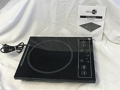 Green Pan 1500W Induction Cooktop Burner Cooker Countertop Kitchen Appliance