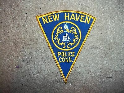 New Haven CT Police Patch