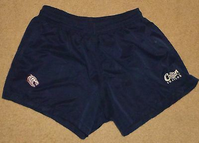 LEICESTER TIGERS ( UK ) 40 / Mens Rugby Union Shorts Pre Owned See description..