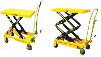 TABLE TRUCK 500 kgs cap CART  TROLLEY JACK PALLET HYDRAULIC LIFT SCISSOR DOLLY