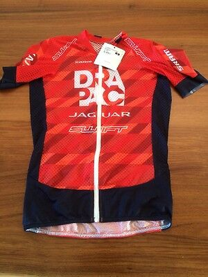 DRAPAC TEAM CASTELLI CLIMBER 2.0 JERSEY SIZE SMALL NEW cycling