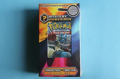 Pokemon mystery power box 100% AUTHENTIC SEALED BRAND NEW