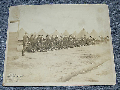 WWI RARE AEF NANCY FRANCE 35th INF DIV 139th REGT PICTURE PHOTO 1917
