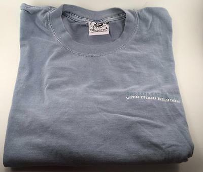 The Late Late Show With Craig Kilborn Light Blue T Shirt Size Large