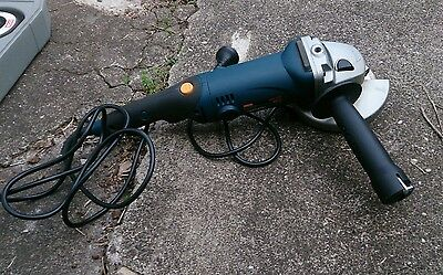 Ryobi EAG85125GS 125mm Variable Speed Angle Grinder Sander 850W in Carry Case