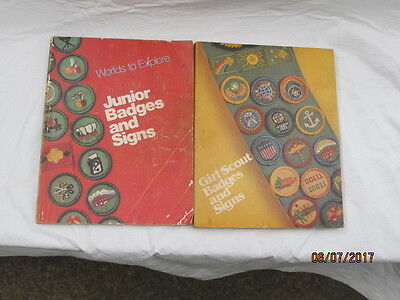 Girl Scouts Badges and Signs, Junior Badges and Signs
