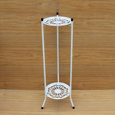 Hot White Black Metal Plant Stand / Flower Pots Shelf Unit