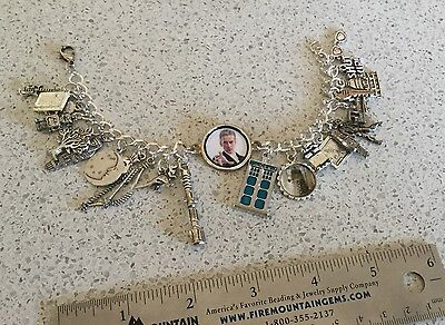 Doctor Who Peter Capaldi Themed 22 Charm Bracelet