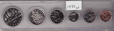 1982 Canada Uncirculated 6 Coin Set
