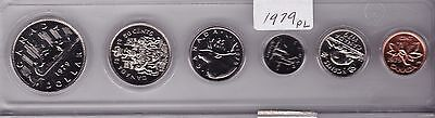1979 Canada Uncirculated 6 Coin Set