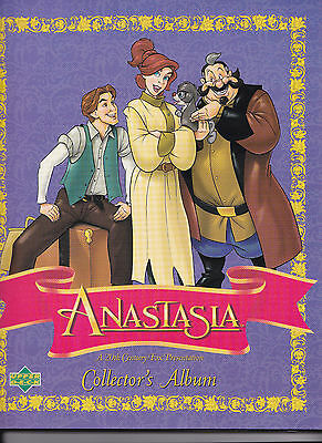 """Disney """"ANASTASIA""""  COMPLETE SET + all chase cards + Story Book Album"""