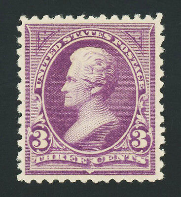 #253, 3c Purple, VF-OG-NH, good-looking & sound, 2017 Scott is $325