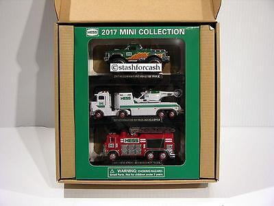 2017 Hess Mini 3 Pack Collection - Batteries Included (SOLD-OUT)