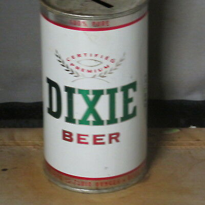 Dixie   Beer  Real Beauty    Bank  Flat Top