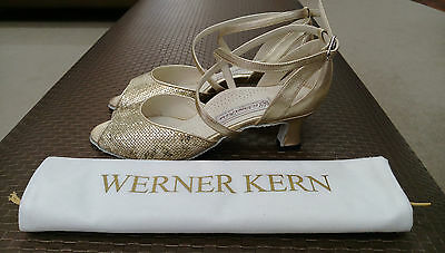Werner Kern Ibiza Platin - Nancy Women's Ballroom Shoes size 6.5 UK