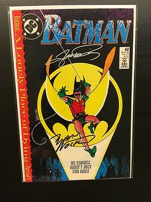 Batman 442 - 1st Tim Drake in Robin costume - Signed Wolfman and Perez!