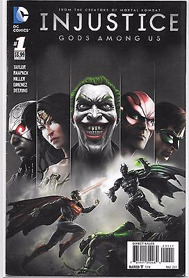 INJUSTICE GODS AMONG US #1 (First PRINT) 1st Printing RARE HTF Year One Joker