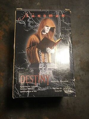 The Sandman Destiny Mini Bust DC Direct *545/800* Vertigo Gaiman Used