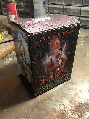 The Sandman Destruction Mini Bust DC Direct *107/650* Vertigo Gaiman Used