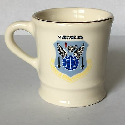 SPECIAL AGENT OFFICE OF SPECIAL INVESTIGATIONS DEPT OF THE AIR FORCE MUG Mil-Art