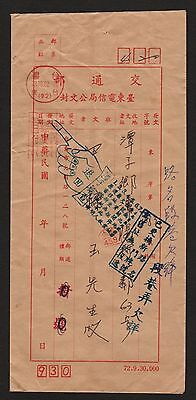 ROC China Taiwan 1984 Returned Cover