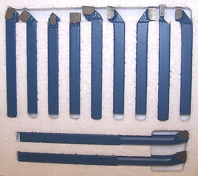 "5/16"" 11 PC Carbide Tool Bit Set"