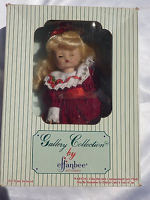 1994  Effanbee Gallery Collection Holidays of the year series Christmas