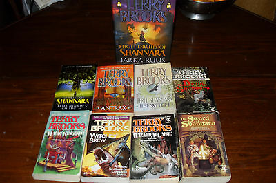Bundle of FANTASY Novels by TERRY BROOKS     free s/h CAN