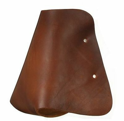 Tough-1 Stirrups Royal King Youth Leather Hooded Med Brown 57-1382