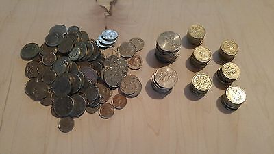 GBP 63 British Pounds UK Foreign Exchange Travel Money Currency coin Lot England