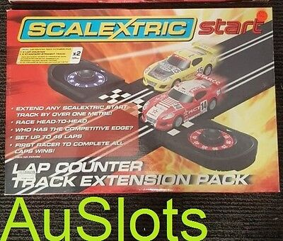 Scalextric Start C8528 Start Lap Counter inc. 1 straight piece Extension Pack
