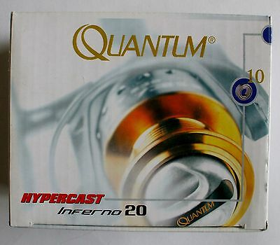"""Fishing Tackle: Quantum Hypercast """" Crypton Inferno"""" Reel -  1020"""