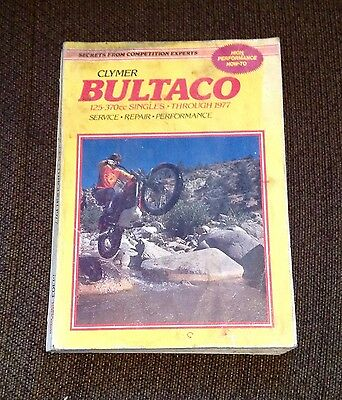Clymer Bultaco Motorcycle High Performance And How To Through 1977