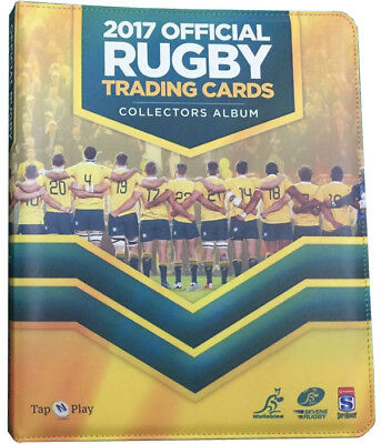 Wallaby & Super 18 2017 Trading Card Album