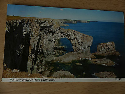 Postcard: The Green Bridge of Wales, Castlemartin (Archway)