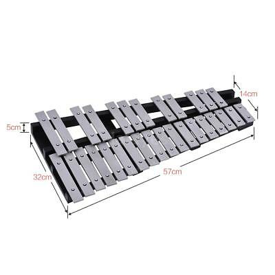 Hot 30 Note  Glockenspiel Xylophone Vibraphone Percussion+Mallets Bag Gift P8K0