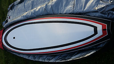 corban carbon racing sup board carbon fins inc bag rrp £2650 paddle board